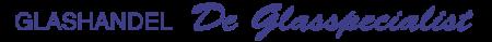Logo Glashandel De Glasspecialist